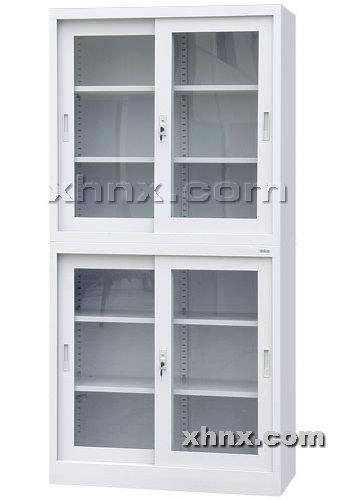 文件柜网提供生产上下玻璃移门柜厂家