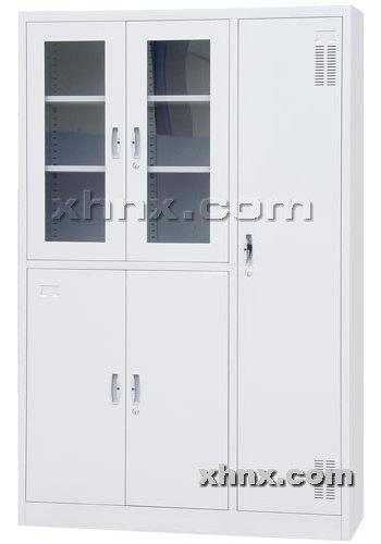 文件柜网提供生产平开带更衣柜厂家