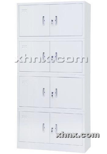 文件柜网提供生产分体四节柜厂家