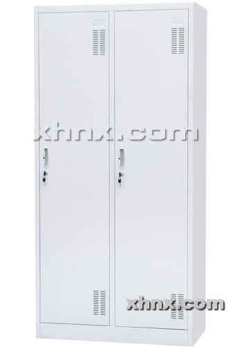 文件柜网提供生产二门更衣柜厂家