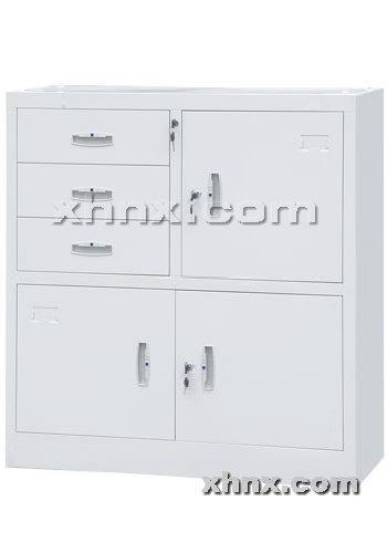 文件柜网提供生产偏三屉矮柜厂家