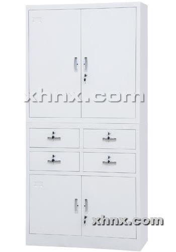 文件柜网提供生产中四屉双节柜厂家